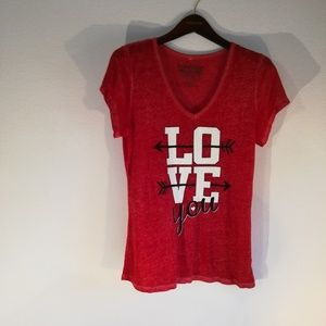 I love you t shirt xtra large size